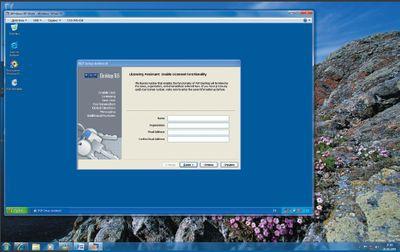 Экран 4. Установка PGP Desktop 9.6 в режиме XP Mode