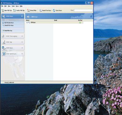 Экран 6. Окно PGP Desktop